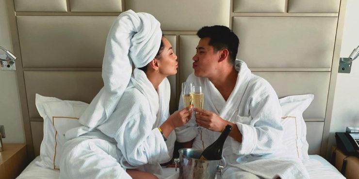 Торжество для двоих: Жания Джуринская вышла замуж