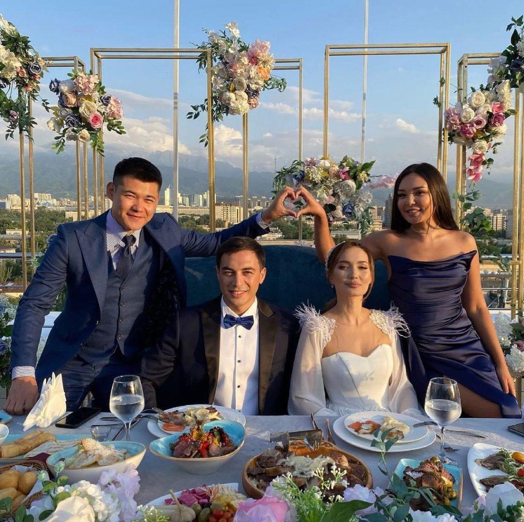 Сая Оразгалиева вышла замуж