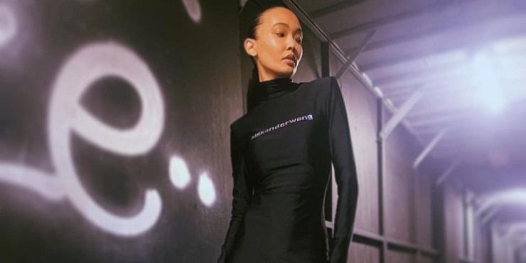 Казахстанская модель Баян Бокишева снялась для кампейна Alexander Wang