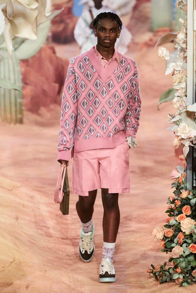 мужская неделя моды в Париже