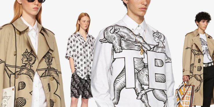 Капсульная коллекция Burberry задает новый вектор шопингу