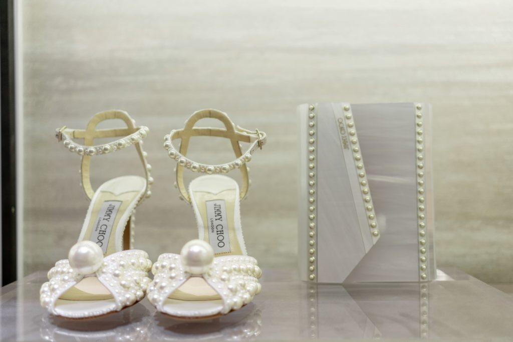Открытие Bridal Corner в казахстанском бутике Jimmy Choo
