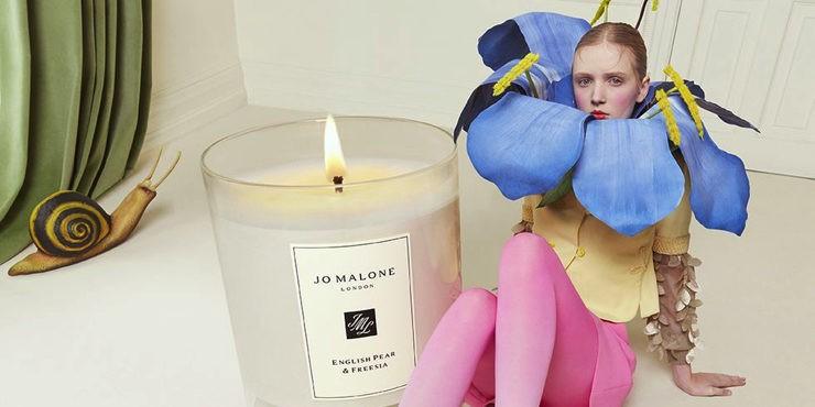 Jo Malone показали свою первую коллекцию аксессуаров для дома