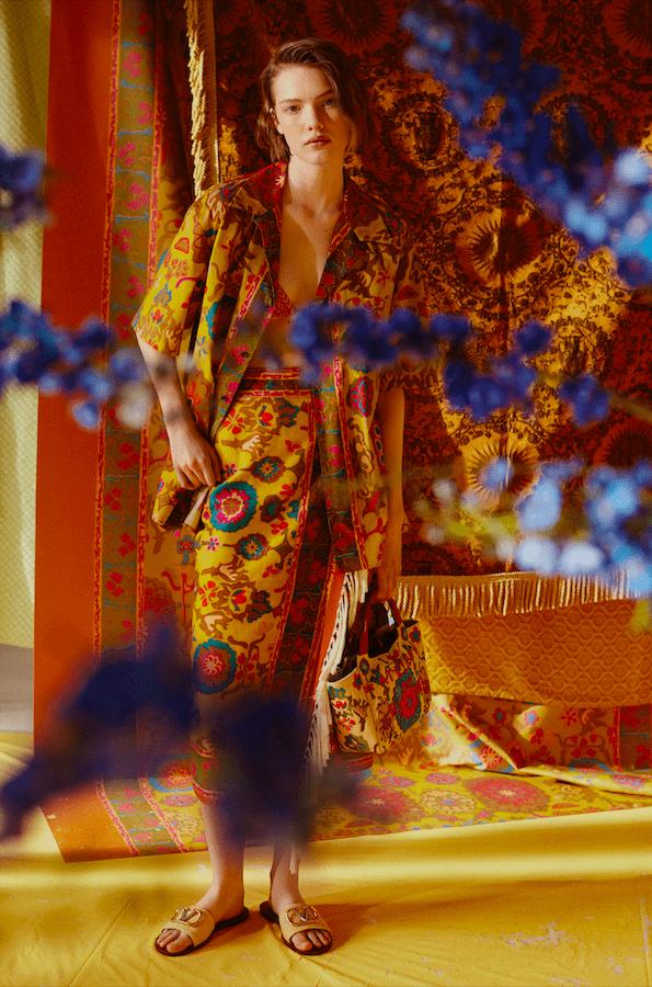 Тропический оазис в капсульной коллекции Valentino