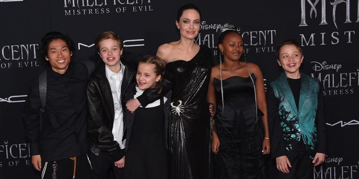 Как дети Анджелины Джоли поздравили актрису с днем рождения?