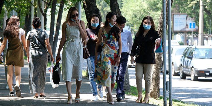 Масочный режим установят в парках и на рынках Алматы