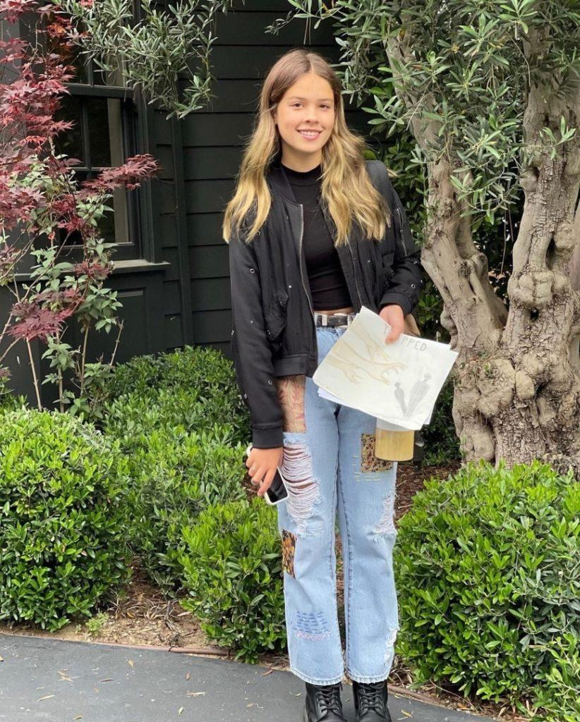 Как выглядит 13-летняя дочь Джессики Альбы?