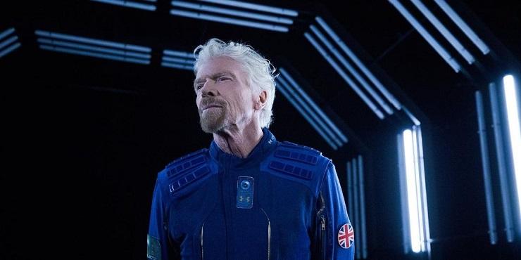 Миллиардер Ричард Брэнсон и его эмоции от полета в космос