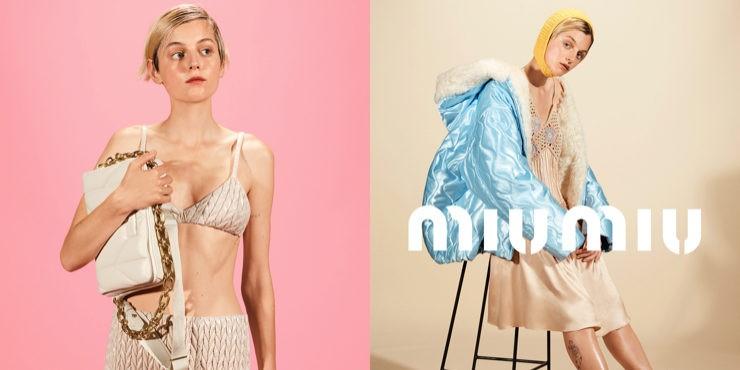 Эмма Коррин стала лицом новой рекламной кампании Miu Miu