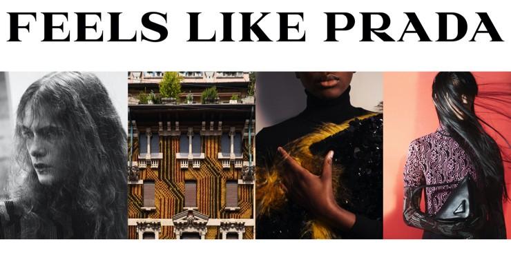 Пробуждение чувств в новой рекламной кампании Prada