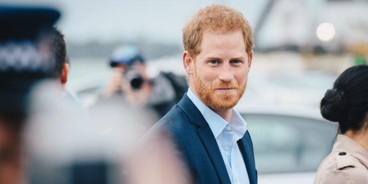 Принц Гарри впервые рассказал о новорожденной дочери