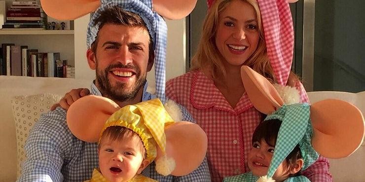 Шакира поделилась редким фото подросших сыновей