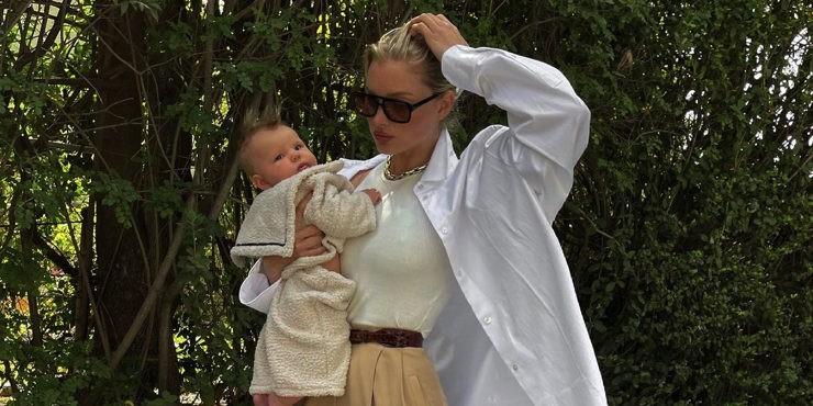 Эльза Хоск похвасталась фигурой спустя 5 месяцев после родов