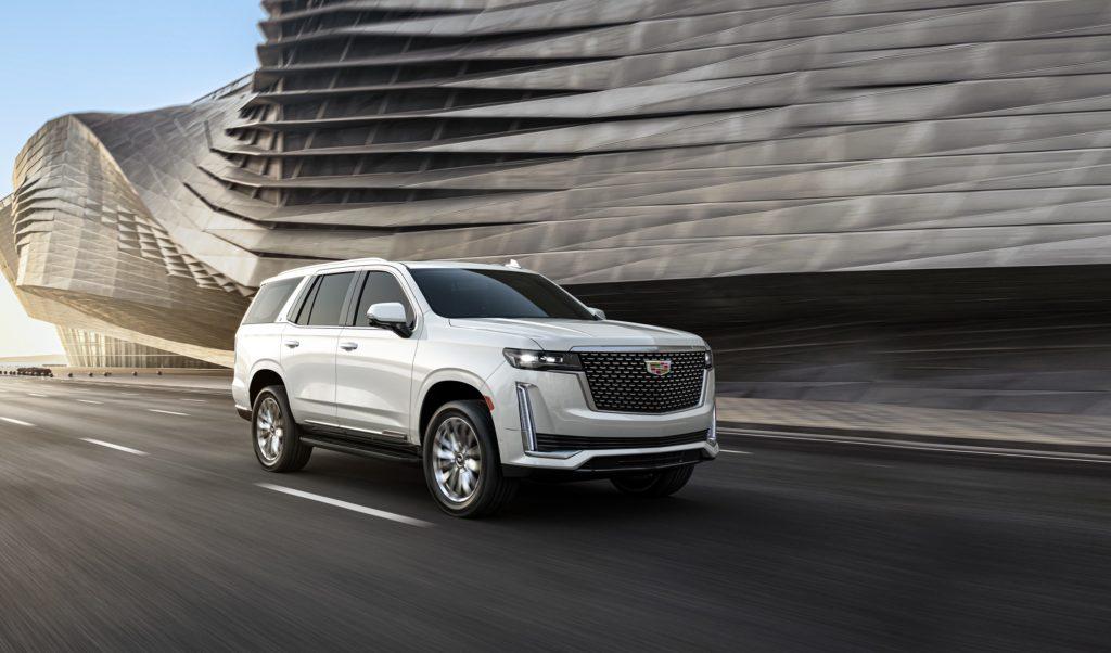 Cadillac Escalade нового поколения теперь и на дорогах Казахстана