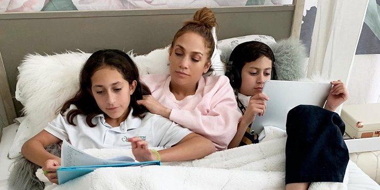 Как дети Дженнифер Лопес и Бена Аффлека реагируют на союз родителей?