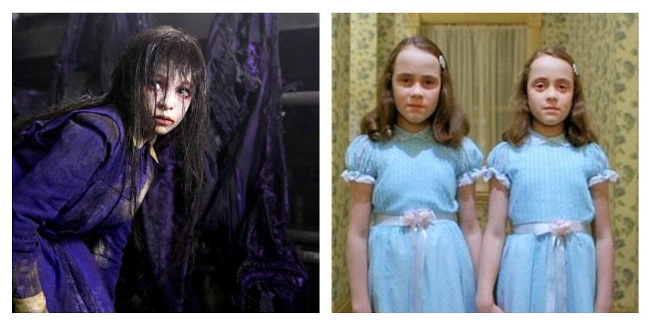 Жуткие дети из фильмов ужасов тогда и сейчас