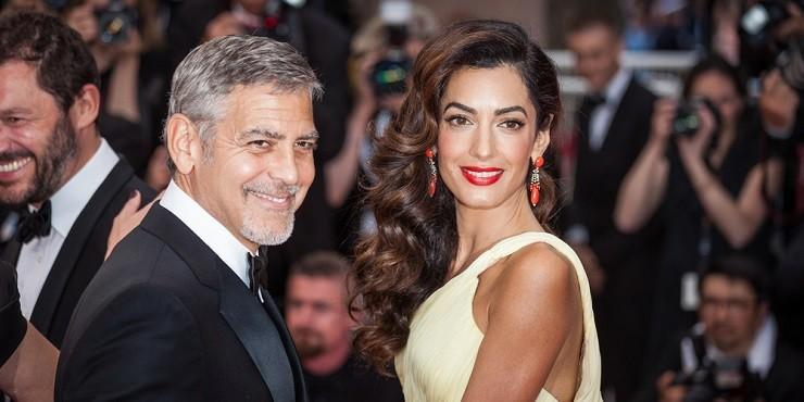 Джордж и Амаль Клуни прокомментировали новость о беременности