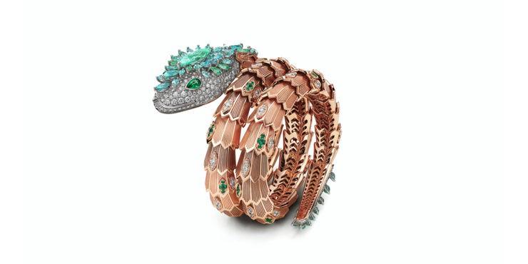 Объект желания: Браслет в виде змеи от ювелирного Дома Bvlgari