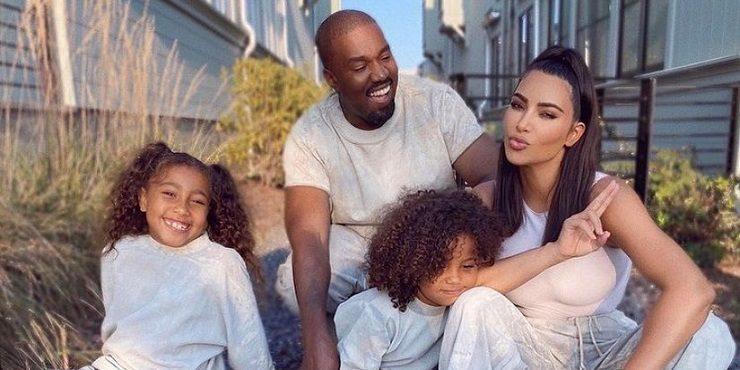 Канье Уэст изменил Ким Кардашьян после рождения второго ребенка