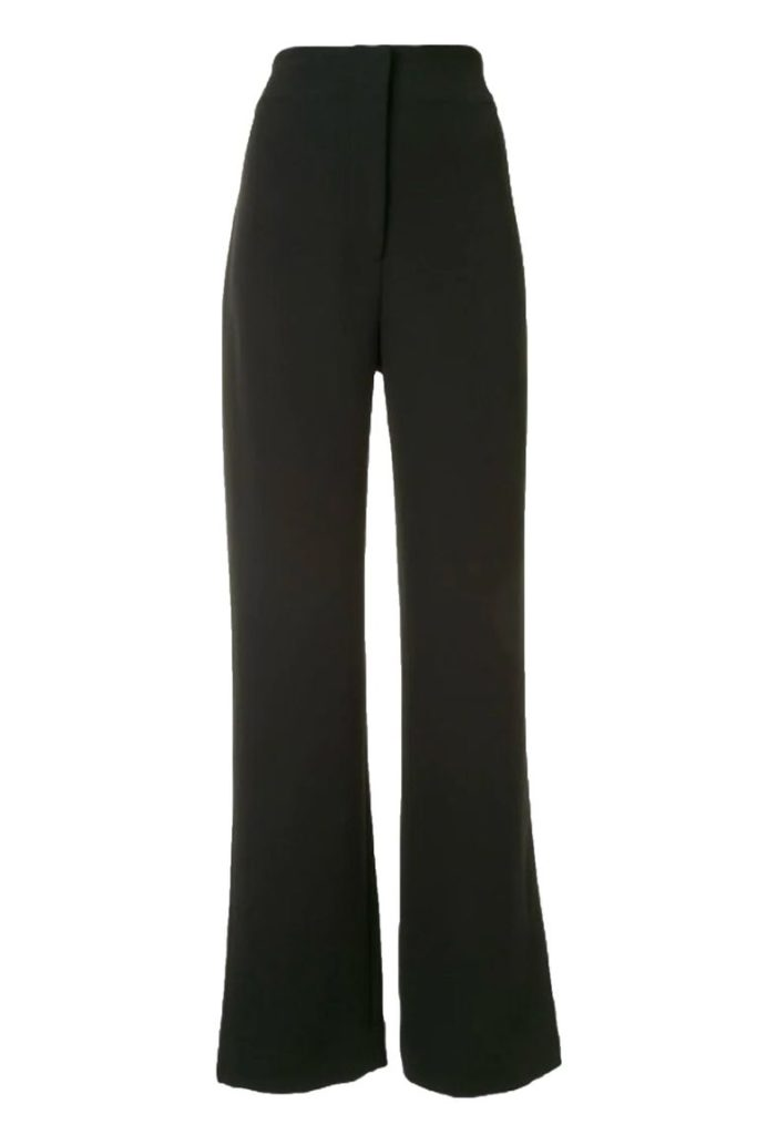 Широкие брюки как обязательная покупка этой осени
