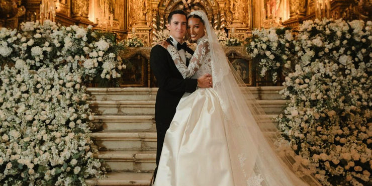 Жасмин Тукс вышла замуж: Первый взгляд на свадебную церемонию