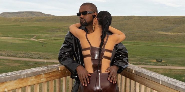 Канье Уэст намекнул на очередной разлад в отношениях с Ким Кардашьян