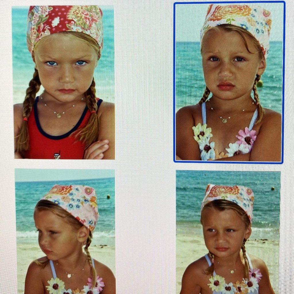 Как Джиджи и Белла Хадид выглядели в детстве?