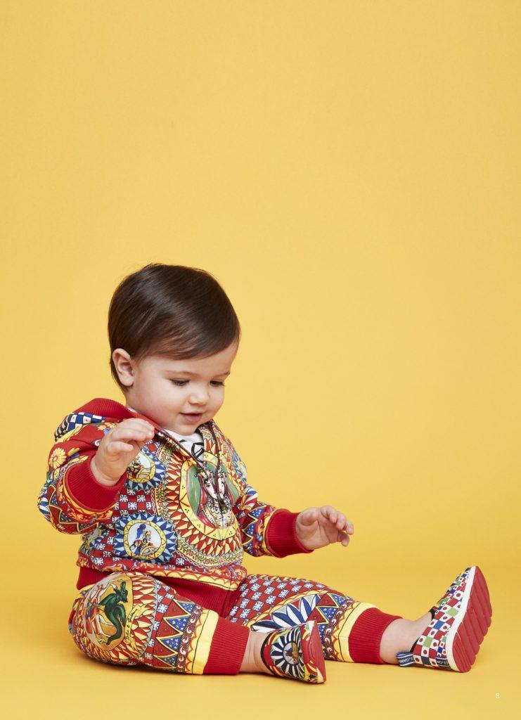 Семейный подряд: Детская коллекция Dolce & Gabbana
