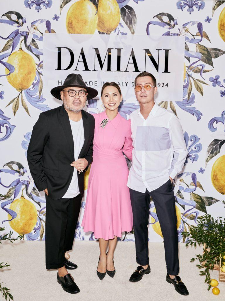 Итальянский дух на закрытом вечере Жанны Кан x Damiani