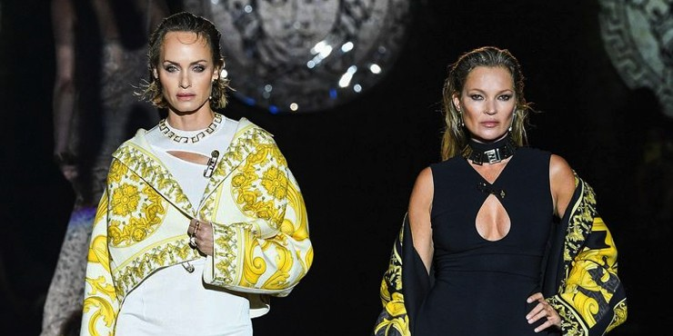 Совместный показ Fendi и Versace в Милане: Как это было?