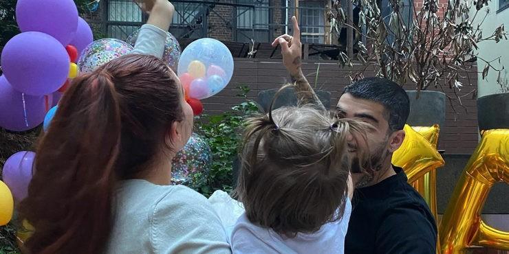 Как Джиджи Хадид отметила первый день рождения дочери?