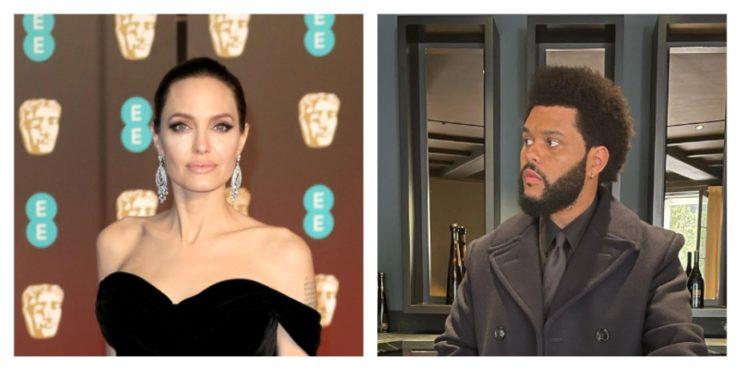 Вся правда об отношениях Анджелины Джоли и The Weeknd