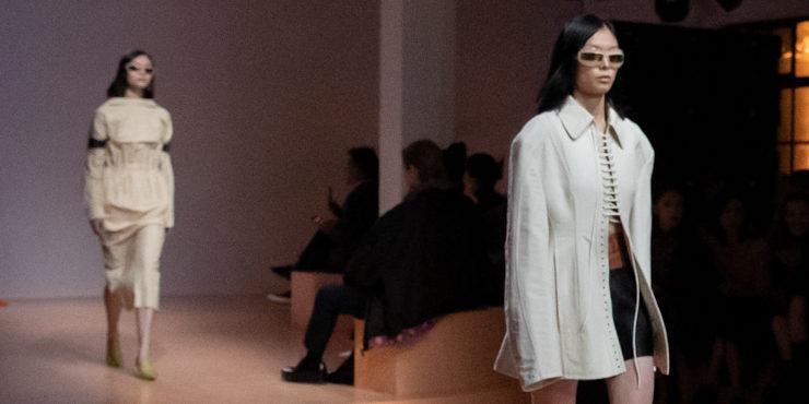 Современная сексуальность в новой коллекции Prada весна-лето 2022
