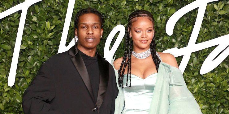 Рианна и A$AP Rocky стали крестными родителями?