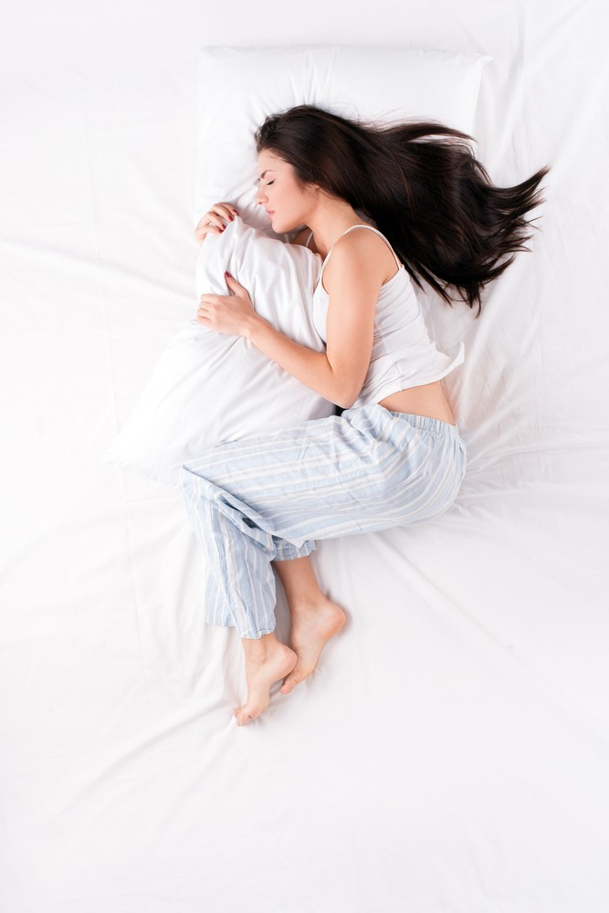 Неправильные позы для сна