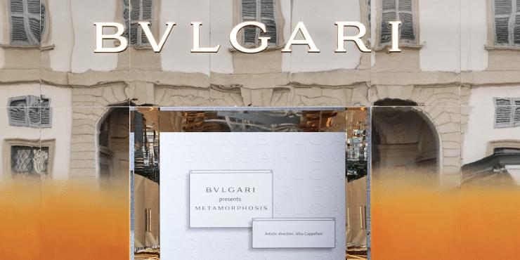 На Миланской Неделе дизайна BVLGARI представили выставку «Метаморфозы»