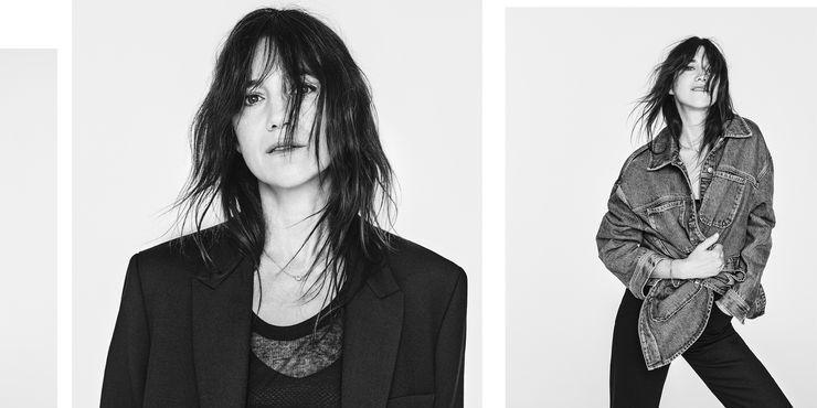 Шарлотта Генсбур и Zara выпустили идеальную коллекцию джинсов