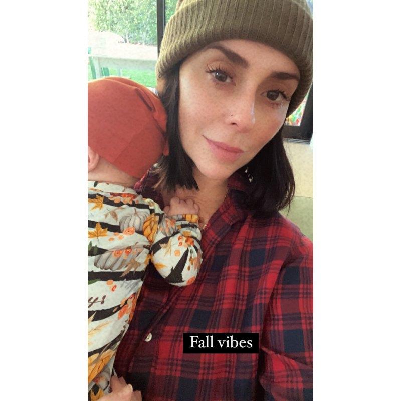 Дженнифер Лав Хьюитт показала новорожденного сына