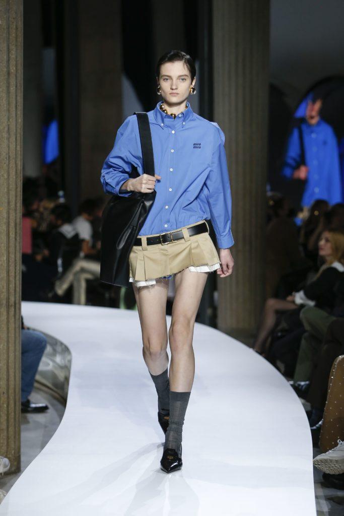 Бунт классическому дресс-коду в новой коллекции Miu Miu
