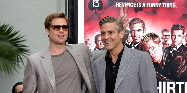 Брэд Питт и Джордж Клуни воссоединятся в новом триллере