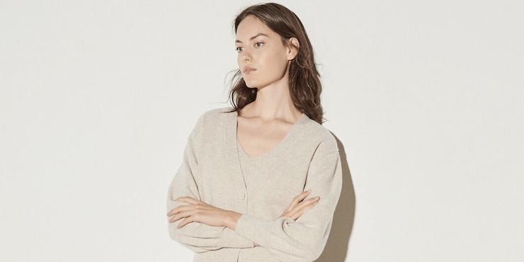 Вязаный кардиган и бра: самое модное сочетание этого сезона