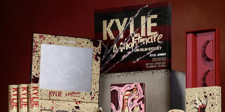 Вышла кровавая коллекция Kylie Cosmetics