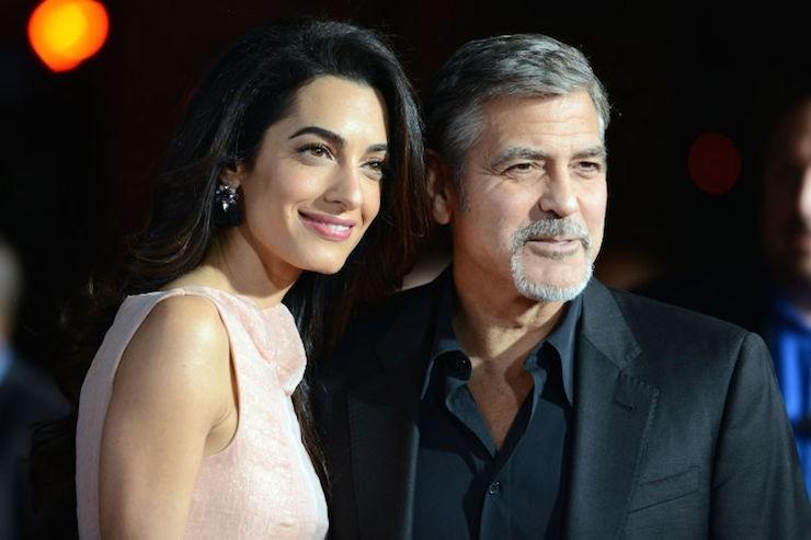 Джордж и Амаль Клуни намерены открыть школы для детей сирийских беженцев