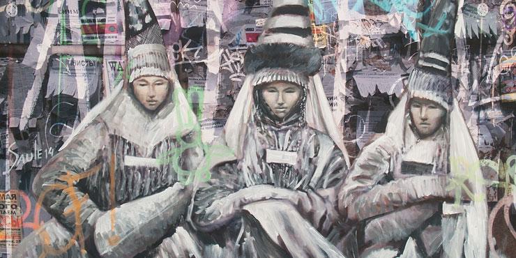 Казахстанские художницы