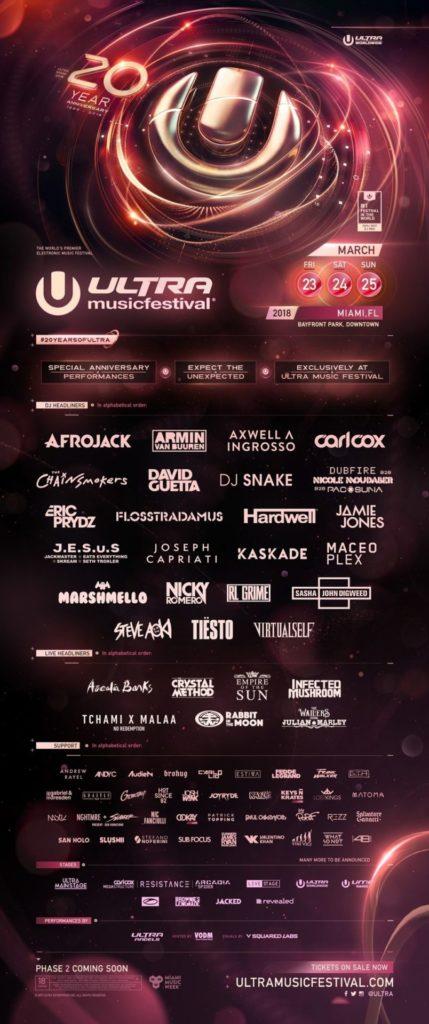 музыкальных фестивалях 2018