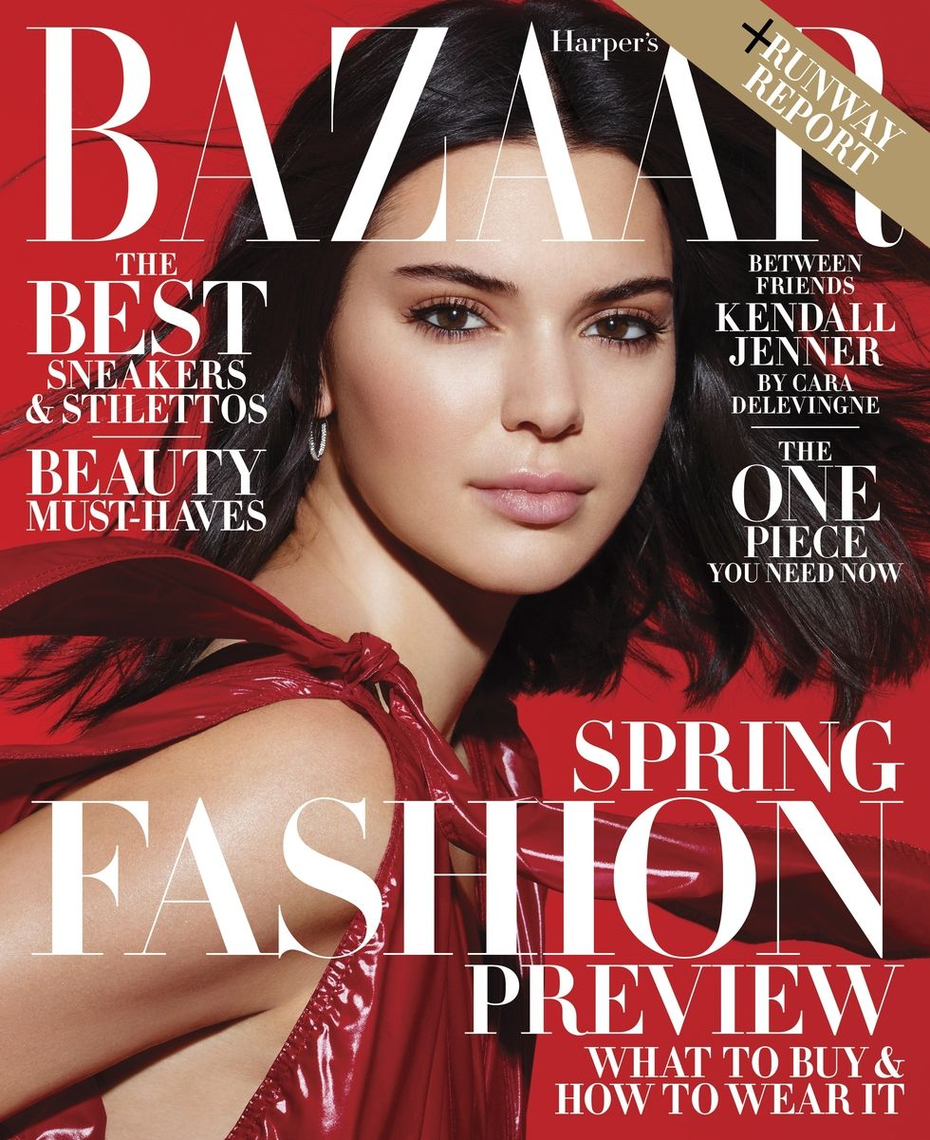 Картинки по запросу Супермодель Кендалл Дженнер стала героиней февральского номера Harper's Bazaar